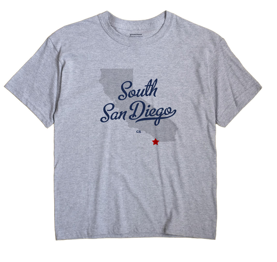 South San Diego, California CA Souvenir Shirt