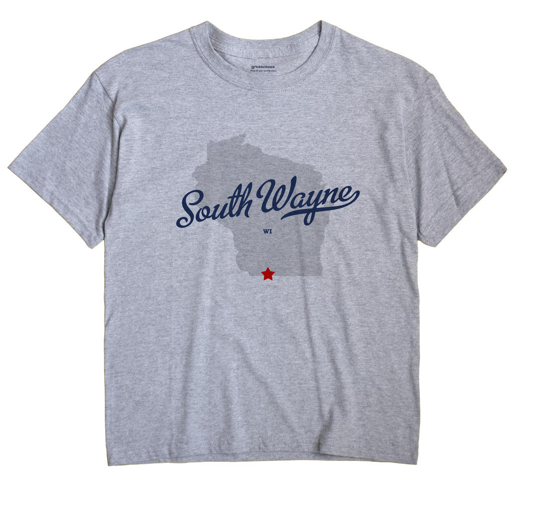 South Wayne, Wisconsin WI Souvenir Shirt