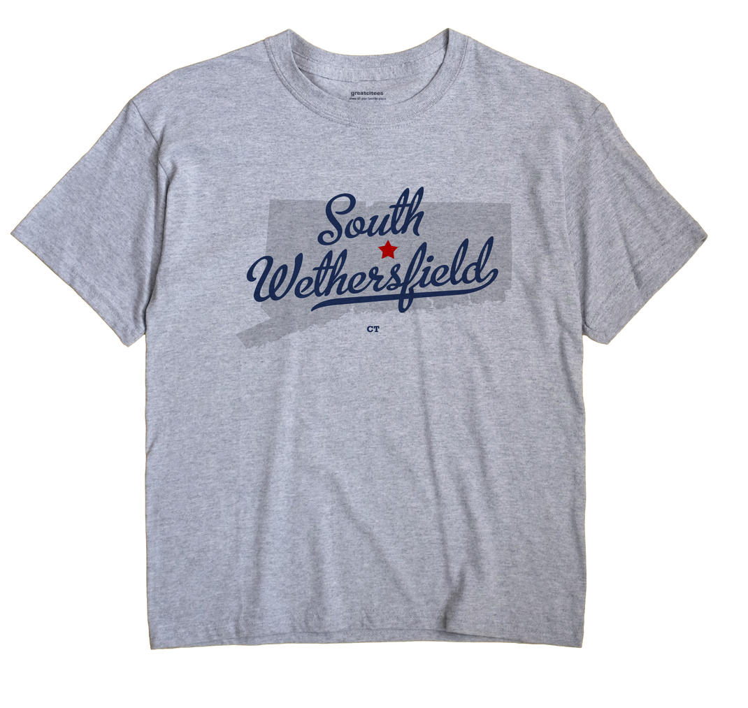 South Wethersfield, Connecticut CT Souvenir Shirt