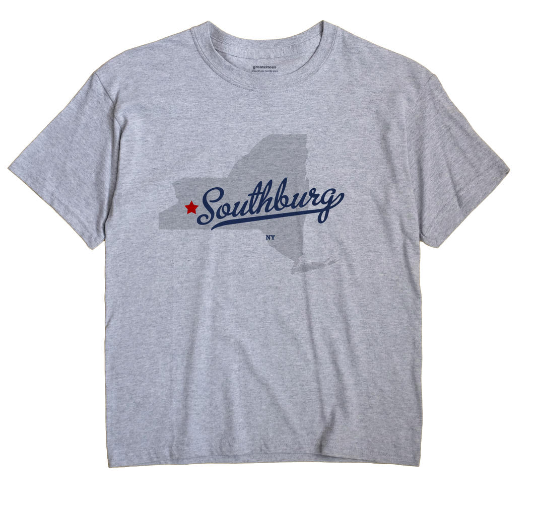 Southburg, New York NY Souvenir Shirt