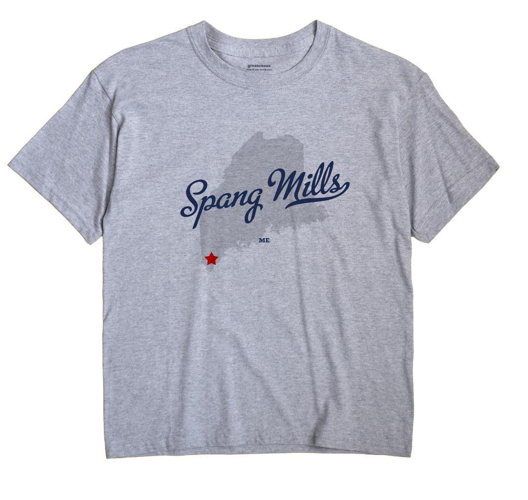 Spang Mills, Maine ME Souvenir Shirt