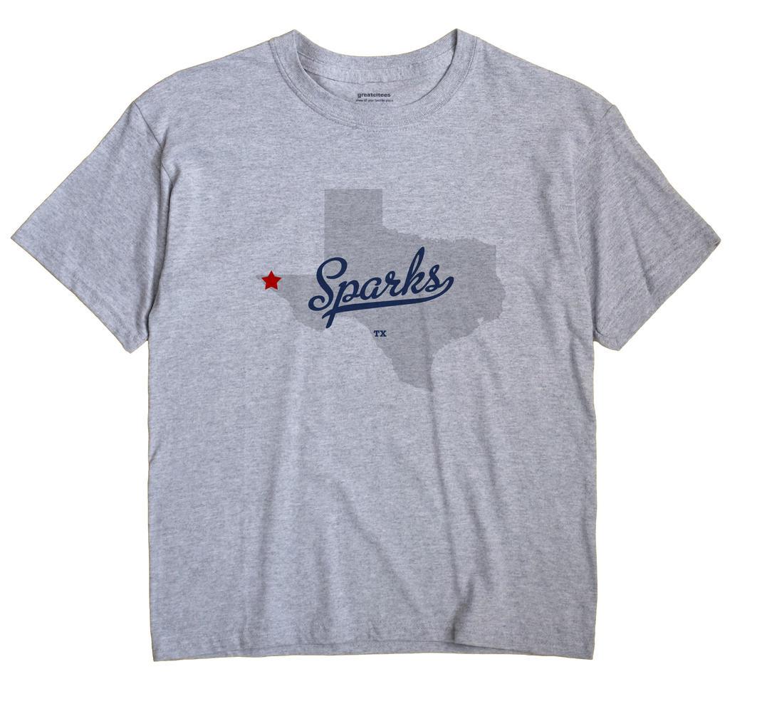 Sparks, Texas TX Souvenir Shirt