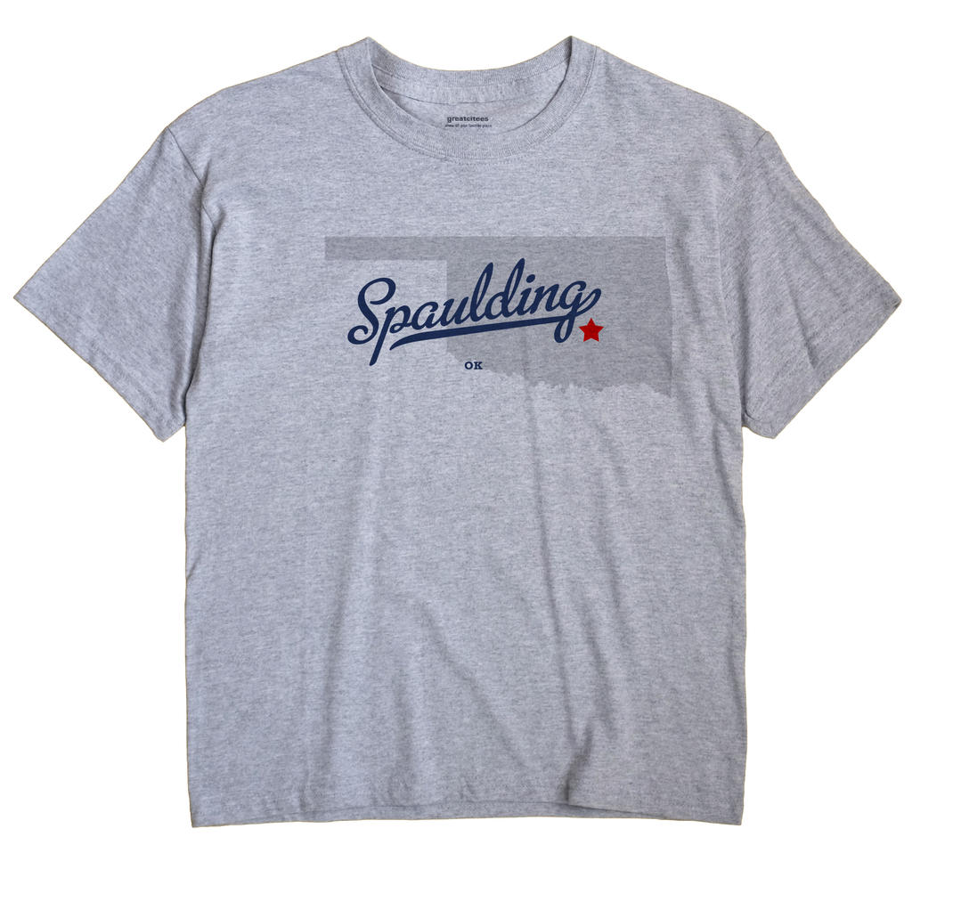 Spaulding, Oklahoma OK Souvenir Shirt