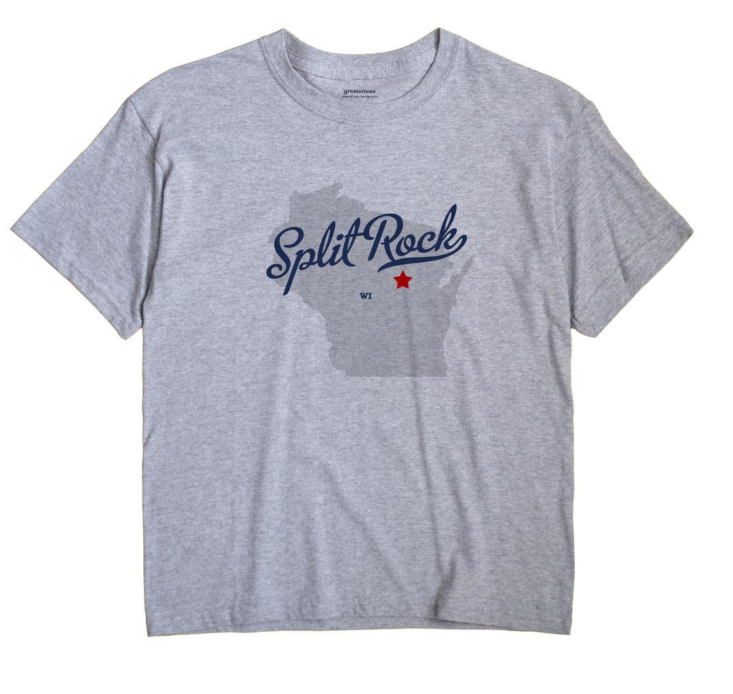 Split Rock, Wisconsin WI Souvenir Shirt
