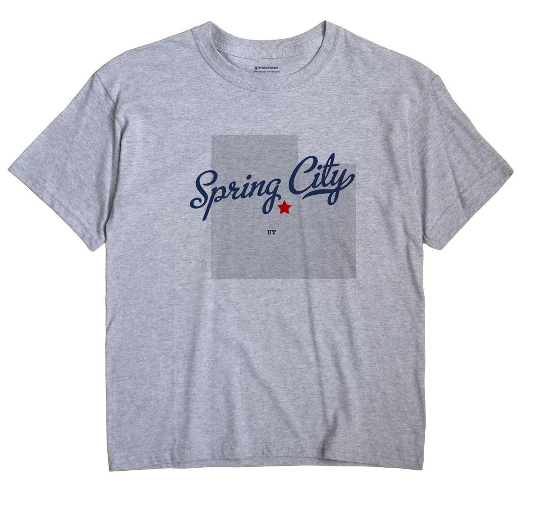 Spring City, Utah UT Souvenir Shirt