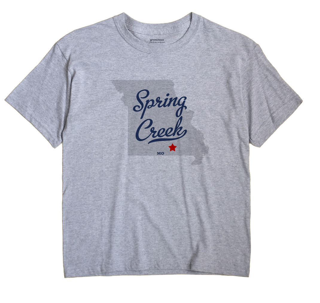 Spring Creek, Shannon County, Missouri MO Souvenir Shirt