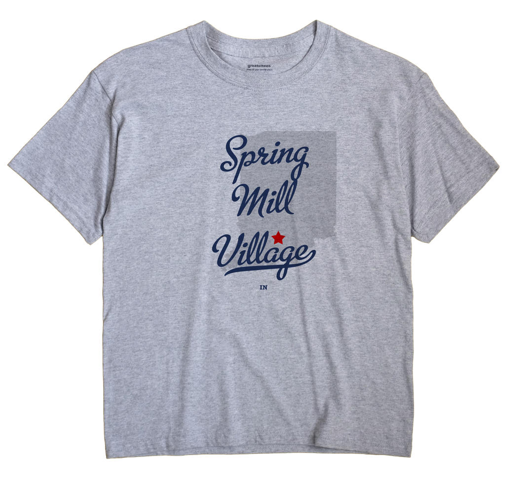 Spring Mill Village, Indiana IN Souvenir Shirt