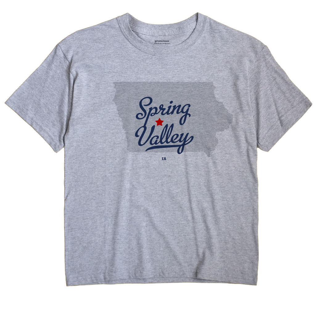 Spring Valley, Dallas County, Iowa IA Souvenir Shirt