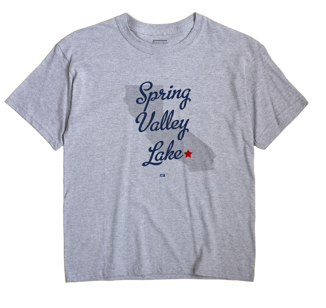 Spring Valley Lake, California CA Souvenir Shirt