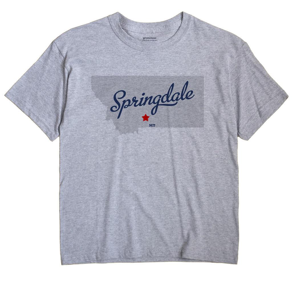 Springdale, Montana MT Souvenir Shirt