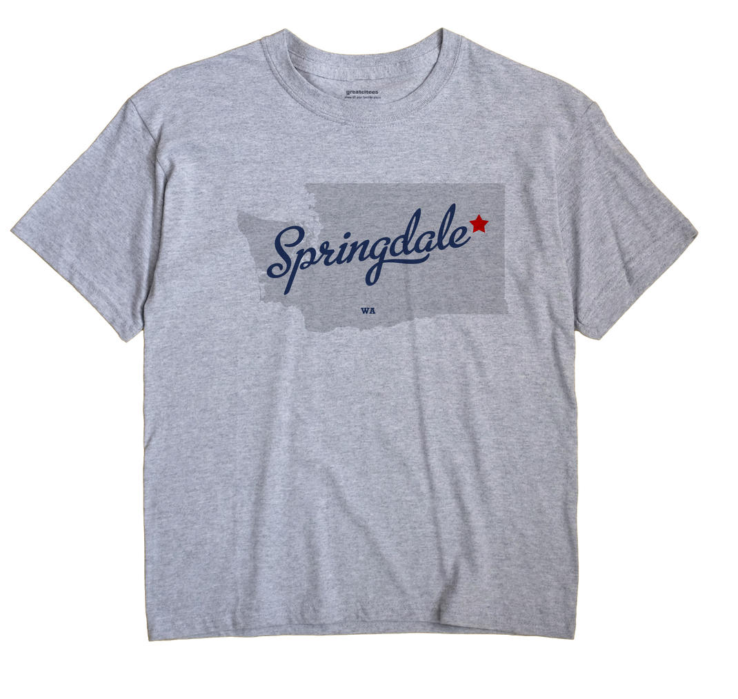 Springdale, Washington WA Souvenir Shirt