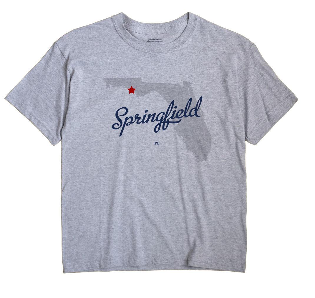 Springfield, Bay County, Florida FL Souvenir Shirt