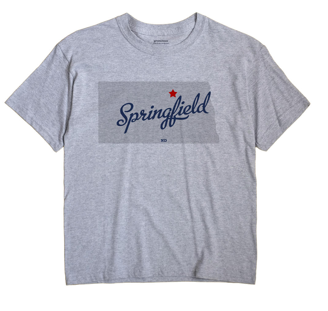 Springfield, North Dakota ND Souvenir Shirt