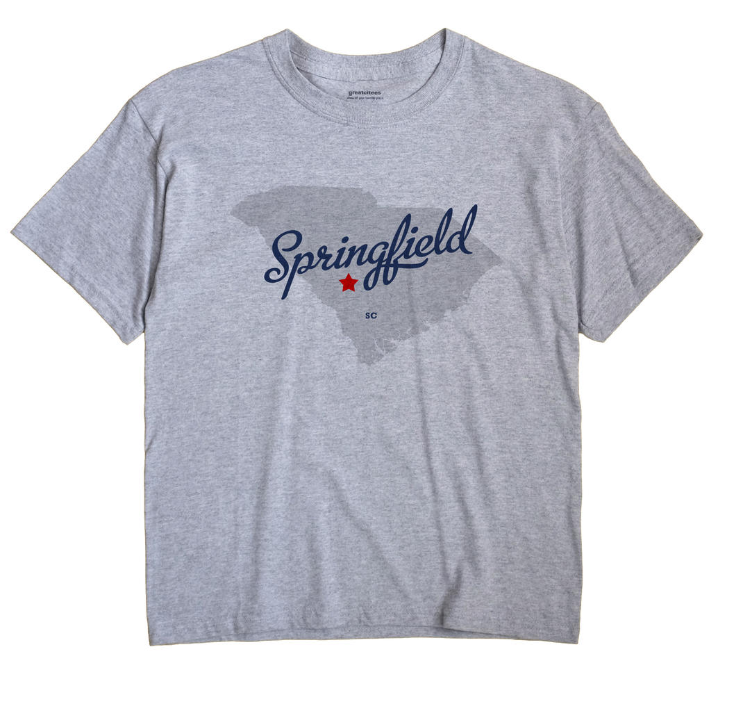 Springfield, South Carolina SC Souvenir Shirt