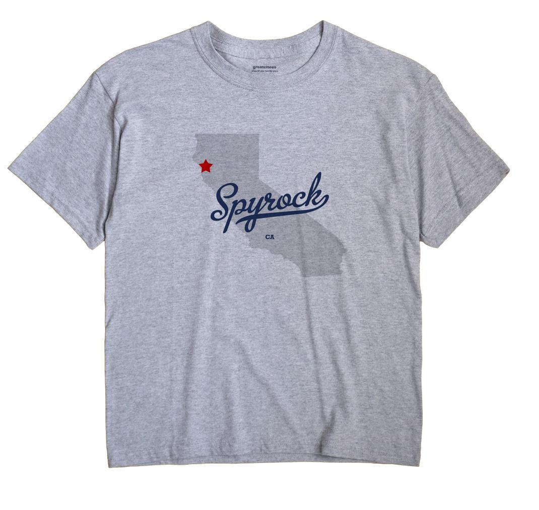 Spyrock, California CA Souvenir Shirt