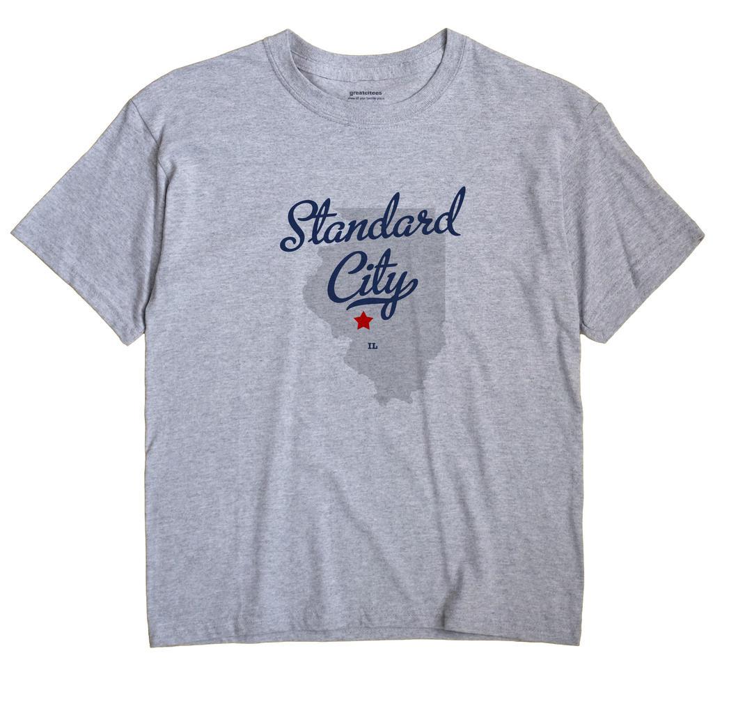 Standard City, Illinois IL Souvenir Shirt