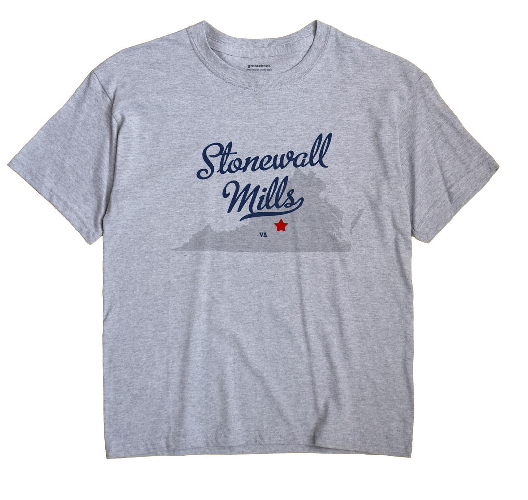 Stonewall Mills, Virginia VA Souvenir Shirt