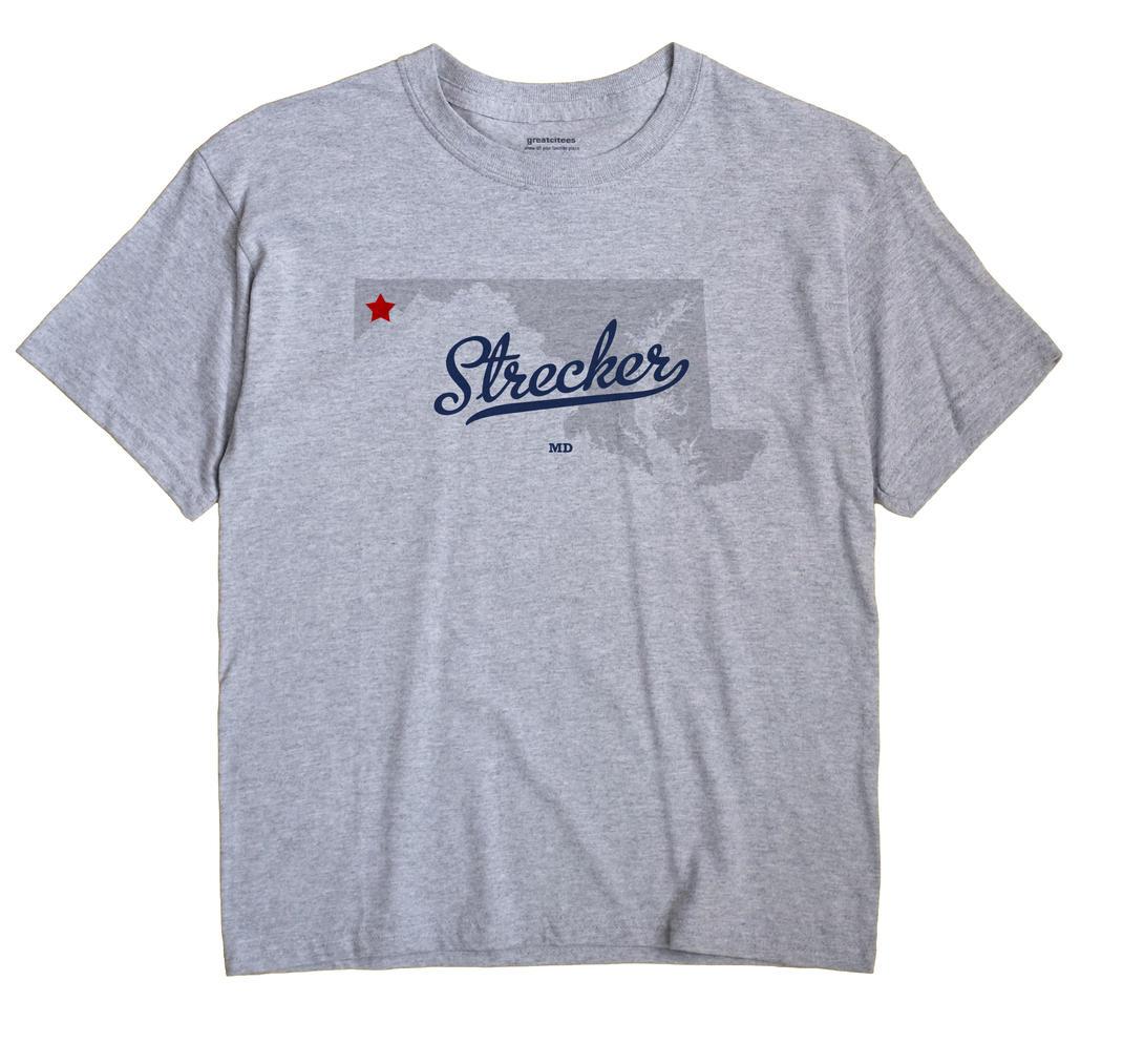 Strecker, Maryland MD Souvenir Shirt