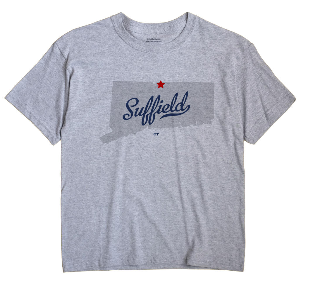 Suffield, Connecticut CT Souvenir Shirt