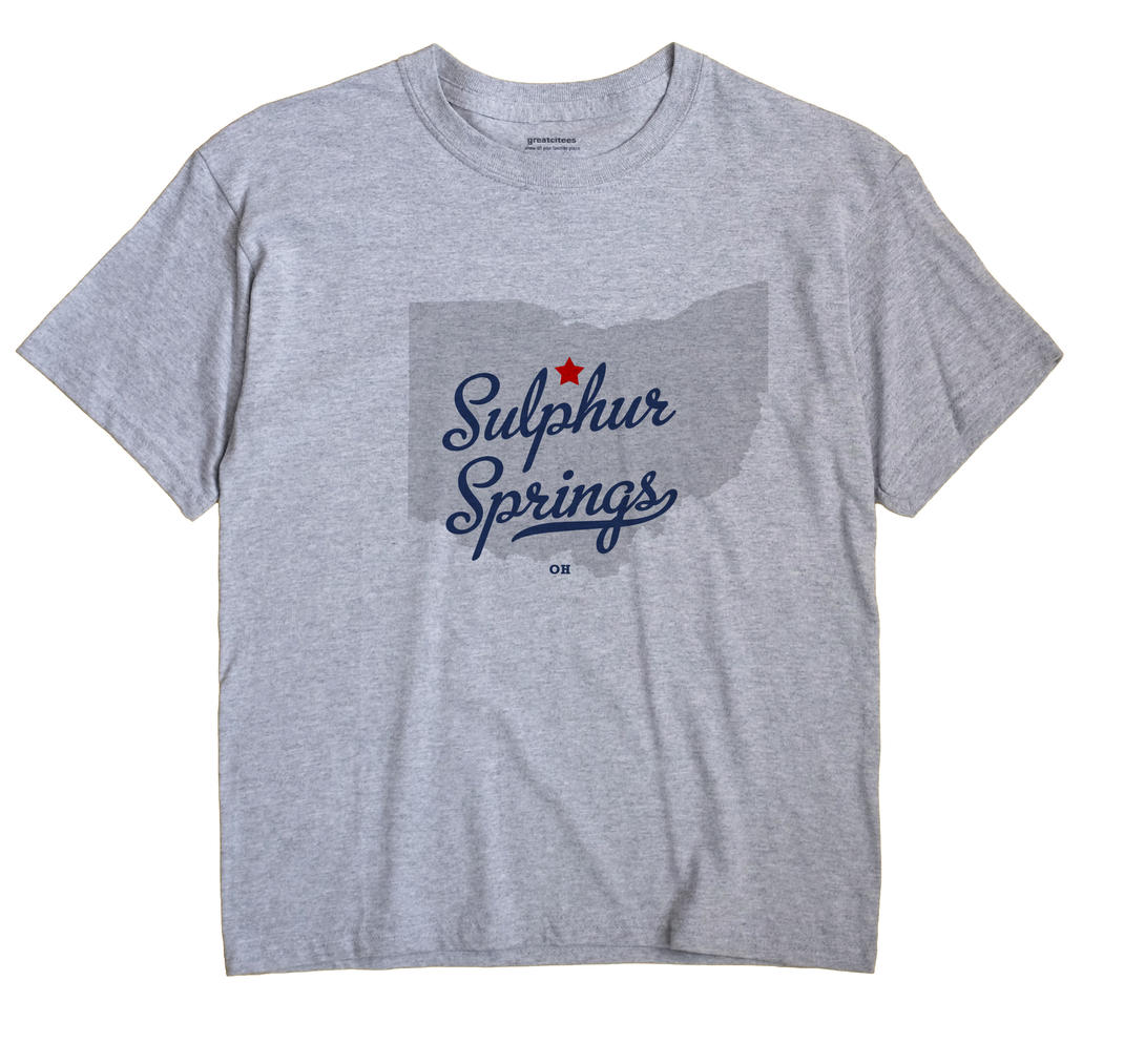 Sulphur Springs, Crawford County, Ohio OH Souvenir Shirt