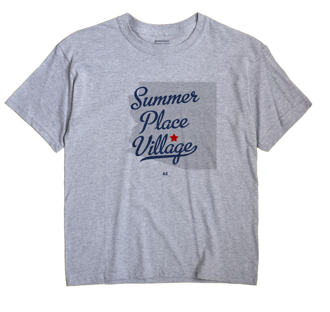 Summer Place Village, Arizona AZ Souvenir Shirt