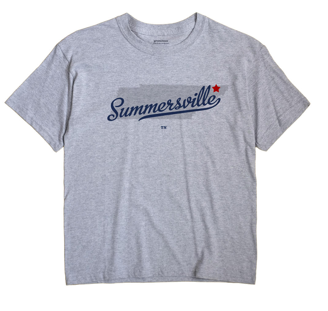 Summersville, Tennessee TN Souvenir Shirt
