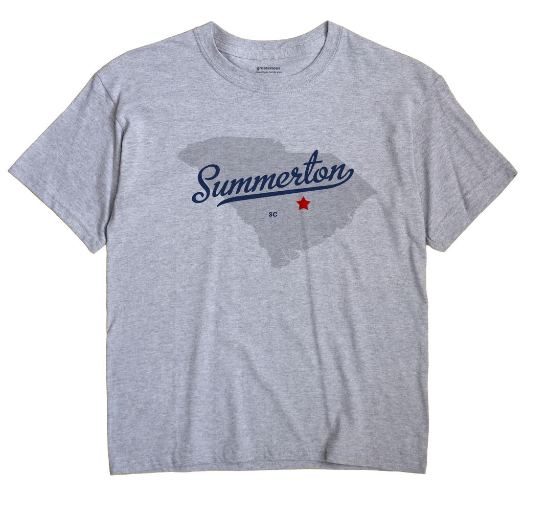 Summerton, South Carolina SC Souvenir Shirt