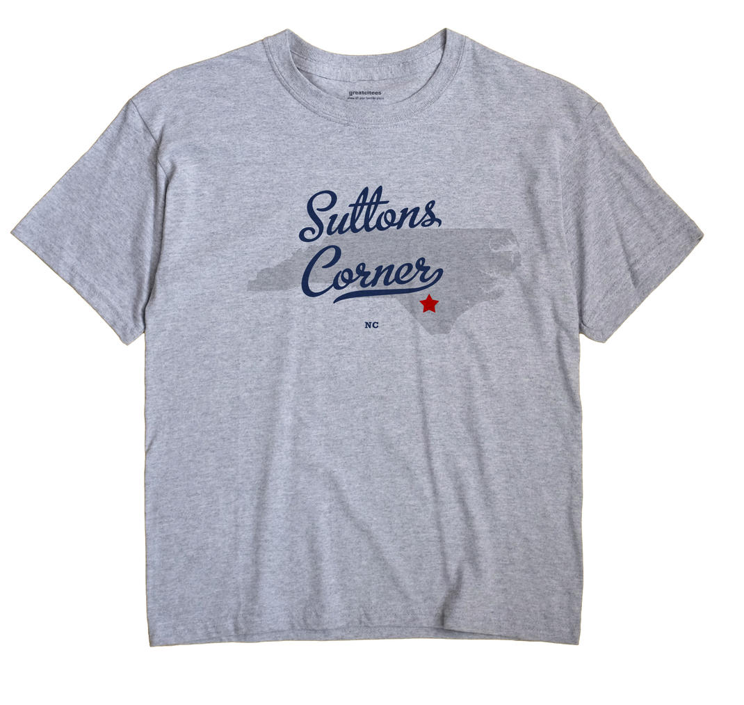 Suttons Corner, North Carolina NC Souvenir Shirt