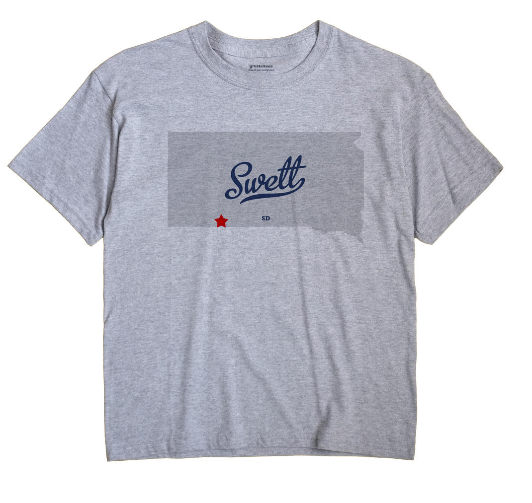 Swett, South Dakota SD Souvenir Shirt