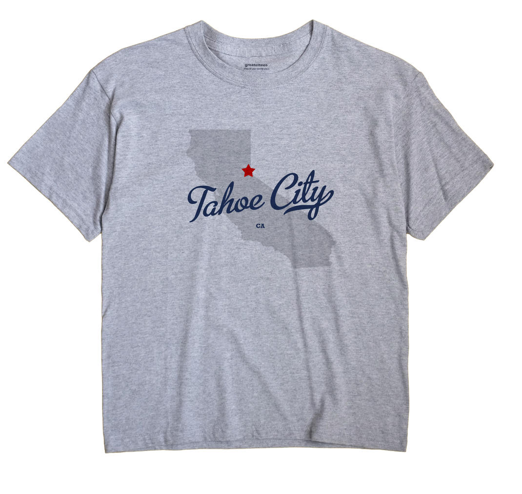 Tahoe City, California CA Souvenir Shirt