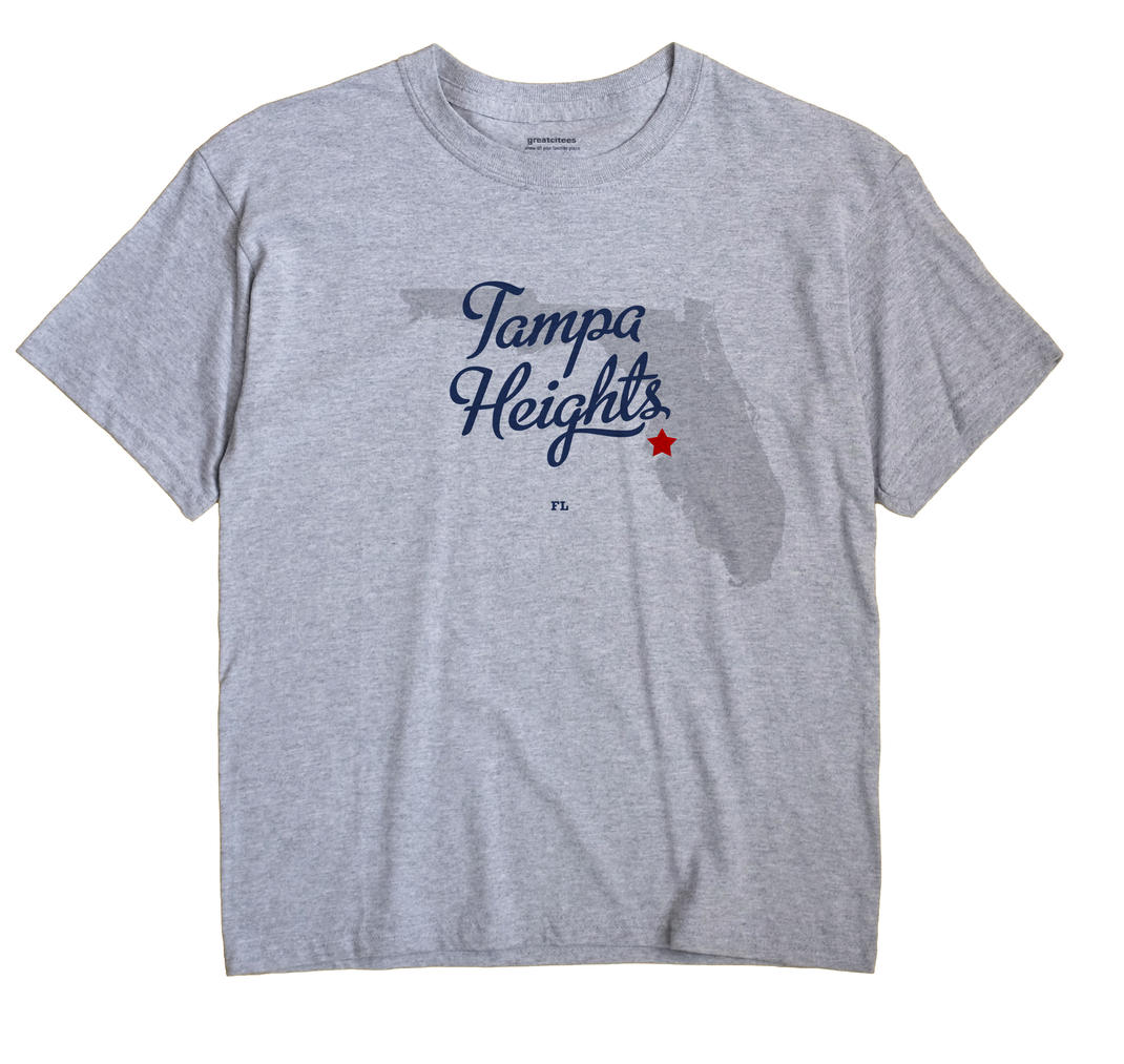 Tampa Heights, Florida FL Souvenir Shirt