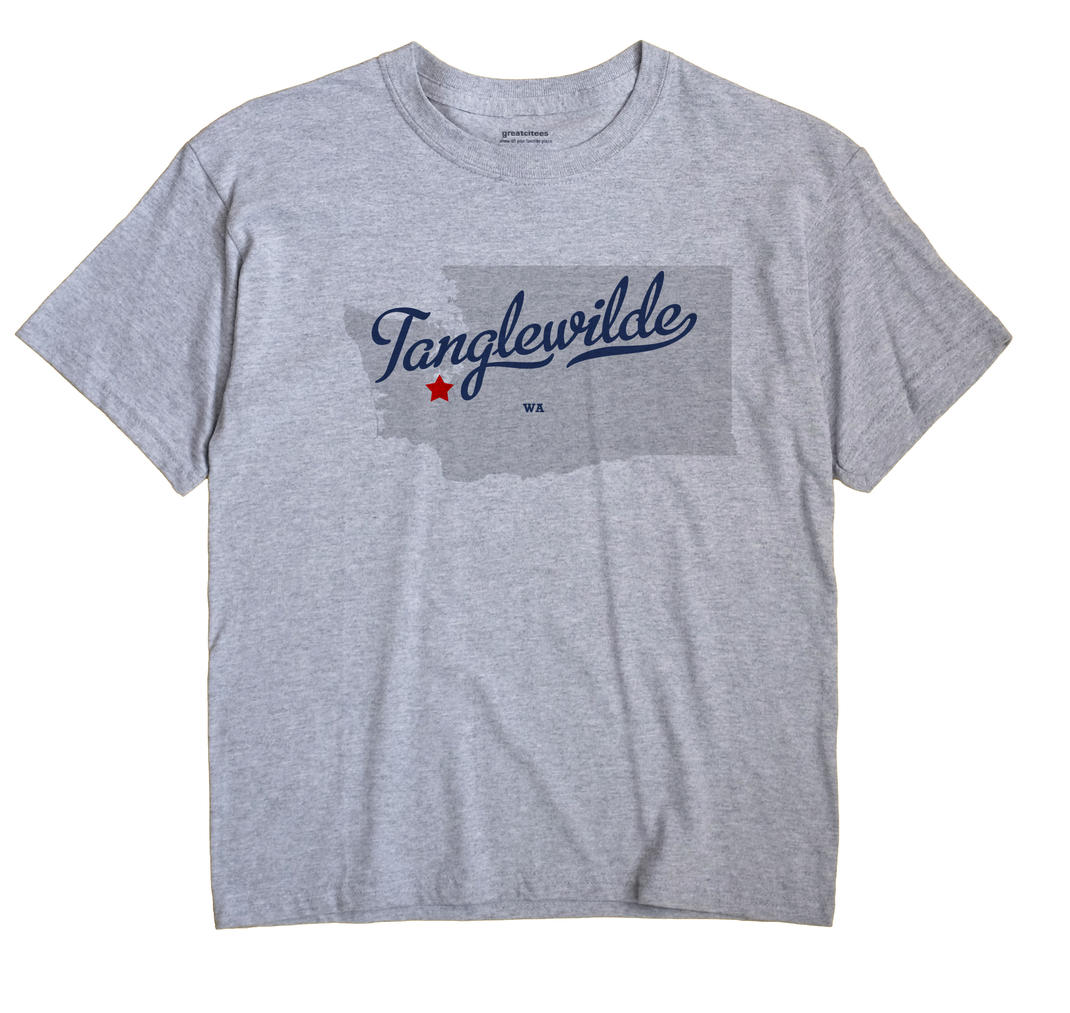 Tanglewilde, Washington WA Souvenir Shirt