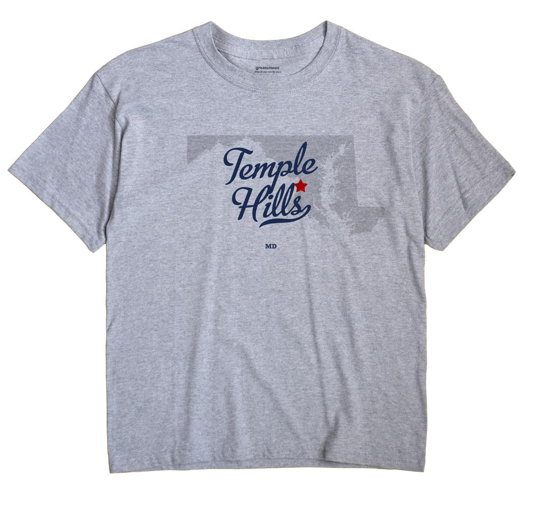 Temple Hills, Maryland MD Souvenir Shirt