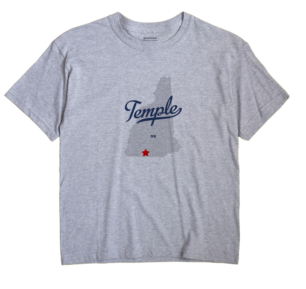 Temple, New Hampshire NH Souvenir Shirt