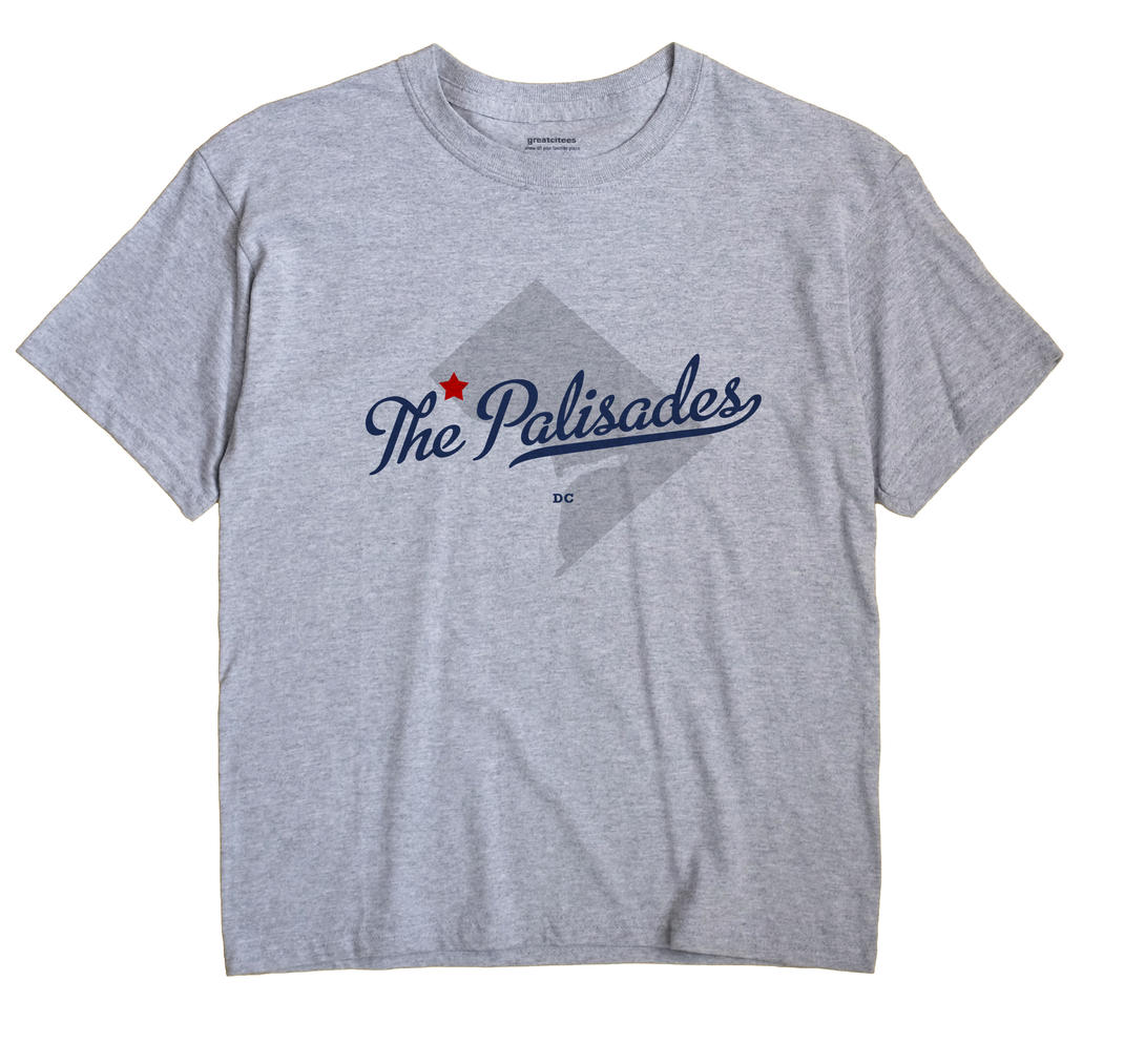 The Palisades, District Of Columbia DC Souvenir Shirt
