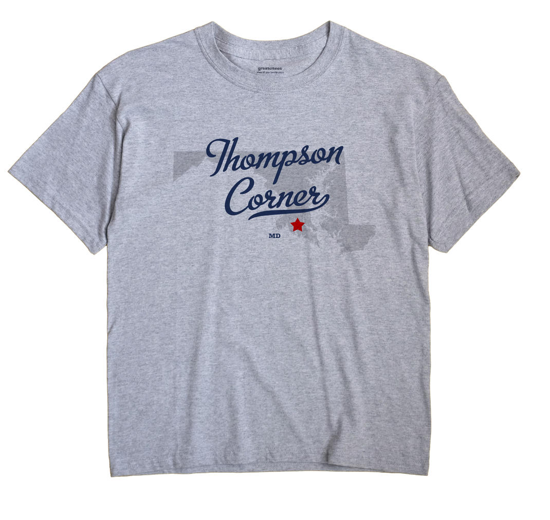 Thompson Corner, Maryland MD Souvenir Shirt