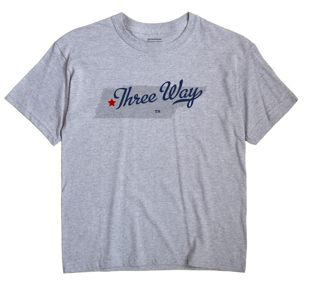 Three Way, Tennessee TN Souvenir Shirt