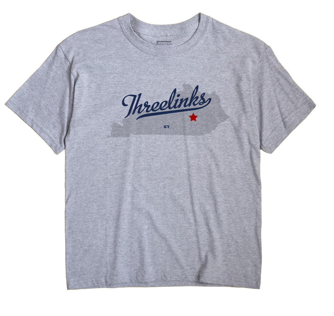 Threelinks, Kentucky KY Souvenir Shirt