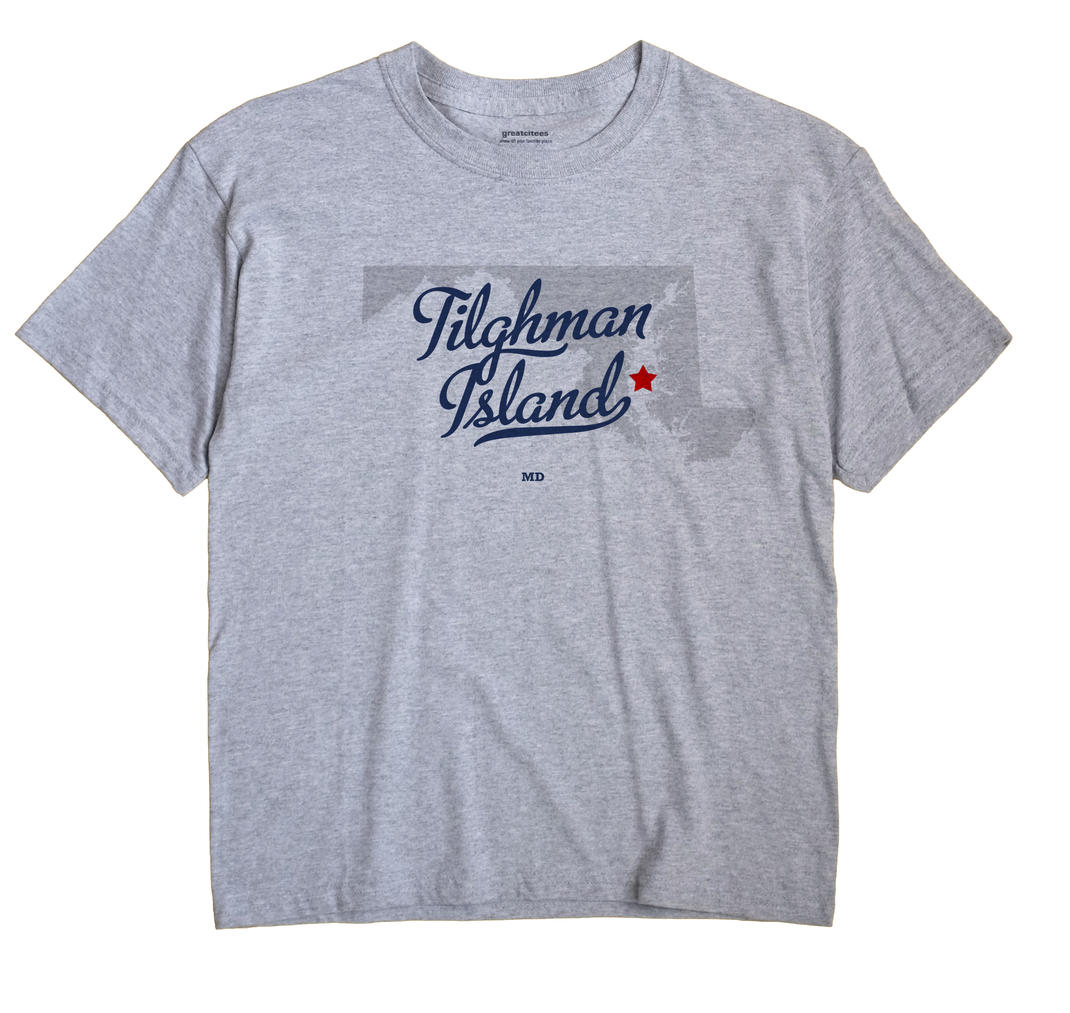 Tilghman Island, Maryland MD Souvenir Shirt