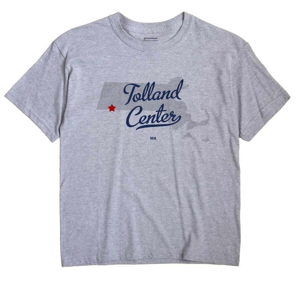 Tolland Center, Massachusetts MA Souvenir Shirt