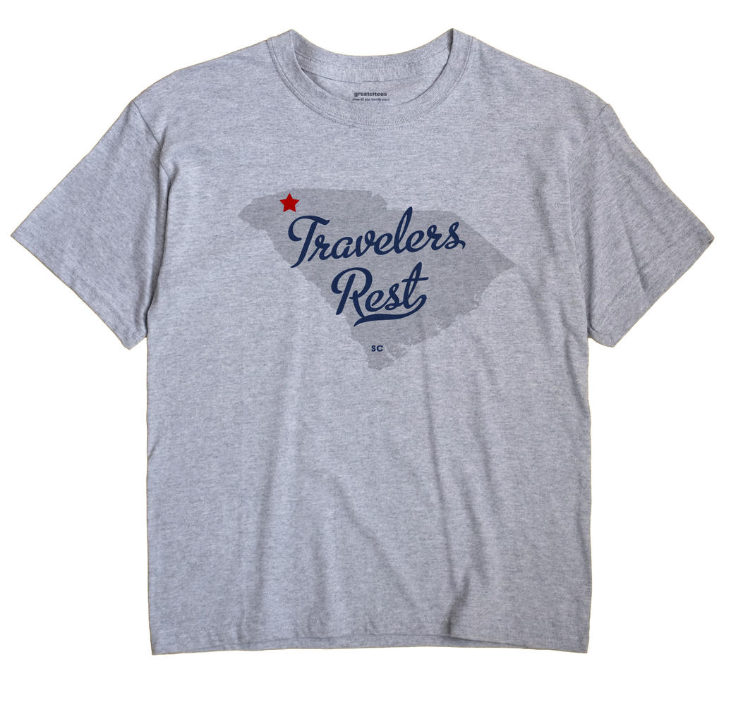 Travelers Rest, South Carolina SC Souvenir Shirt