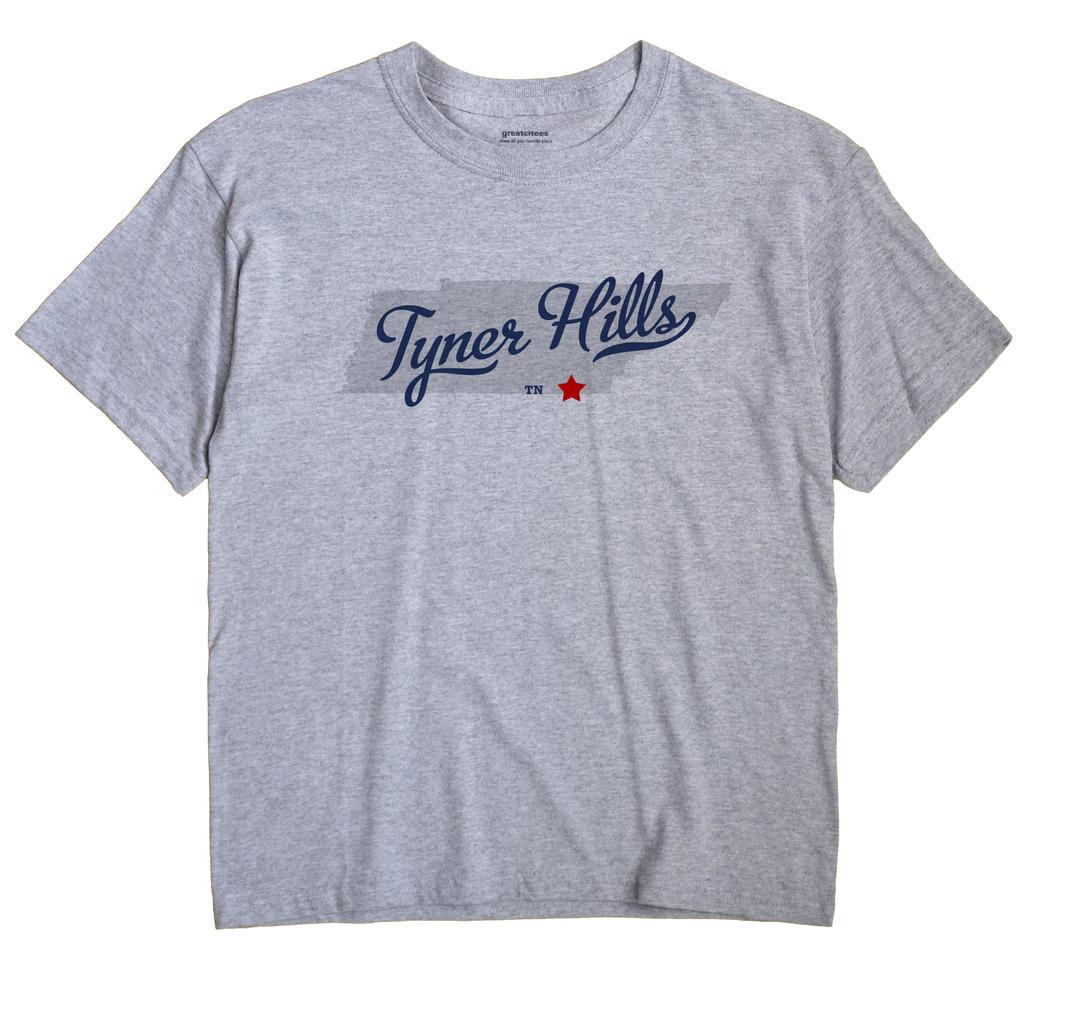 Tyner Hills, Tennessee TN Souvenir Shirt