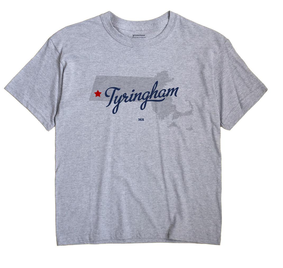 Tyringham, Massachusetts MA Souvenir Shirt