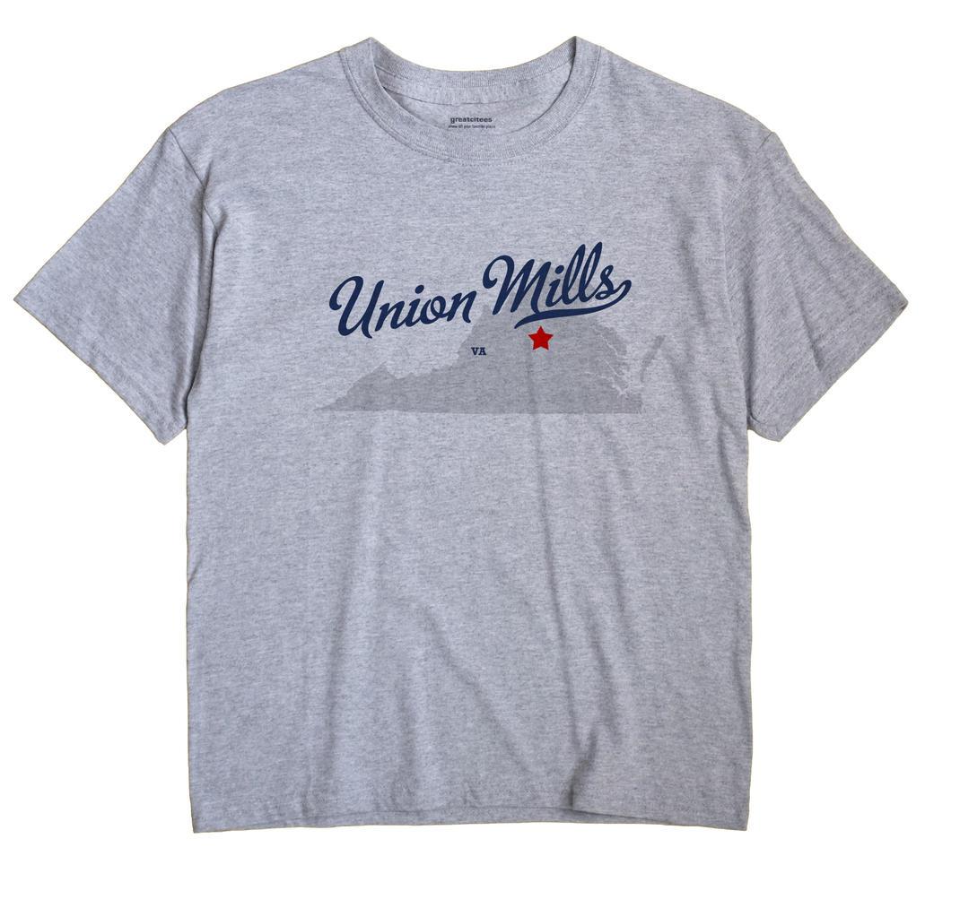 Union Mills, Virginia VA Souvenir Shirt