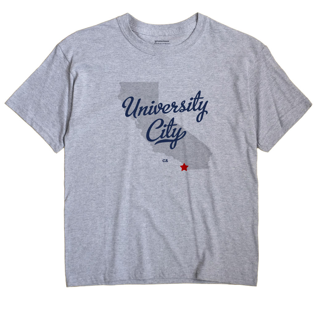 University City, California CA Souvenir Shirt