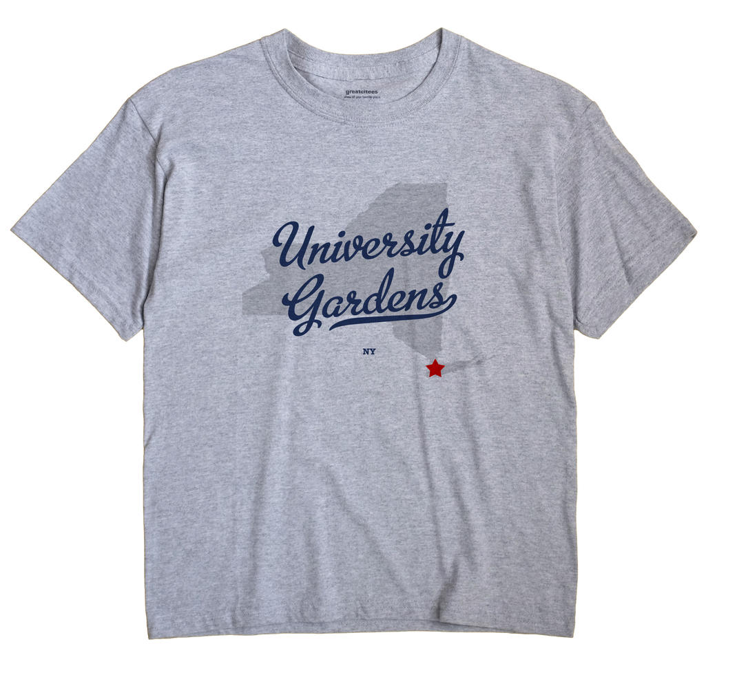 University Gardens, New York NY Souvenir Shirt