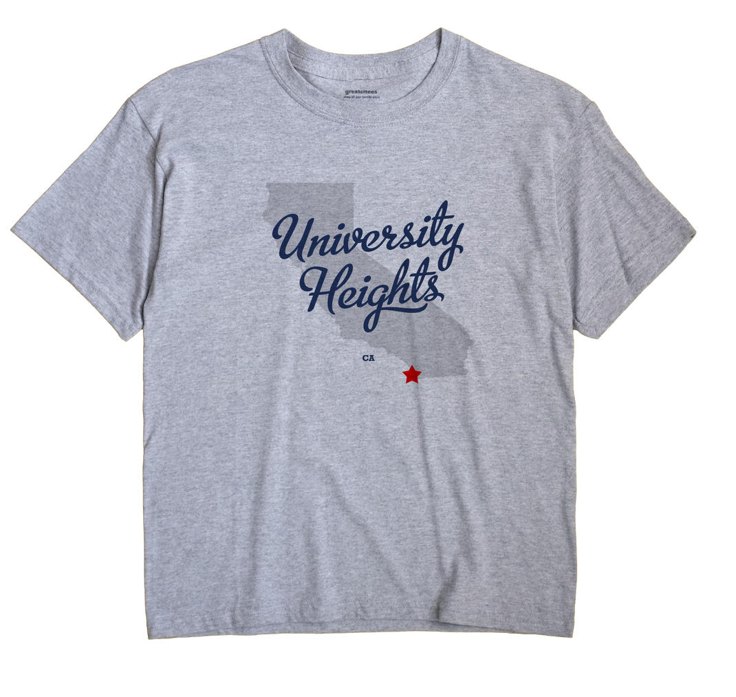 University Heights, California CA Souvenir Shirt