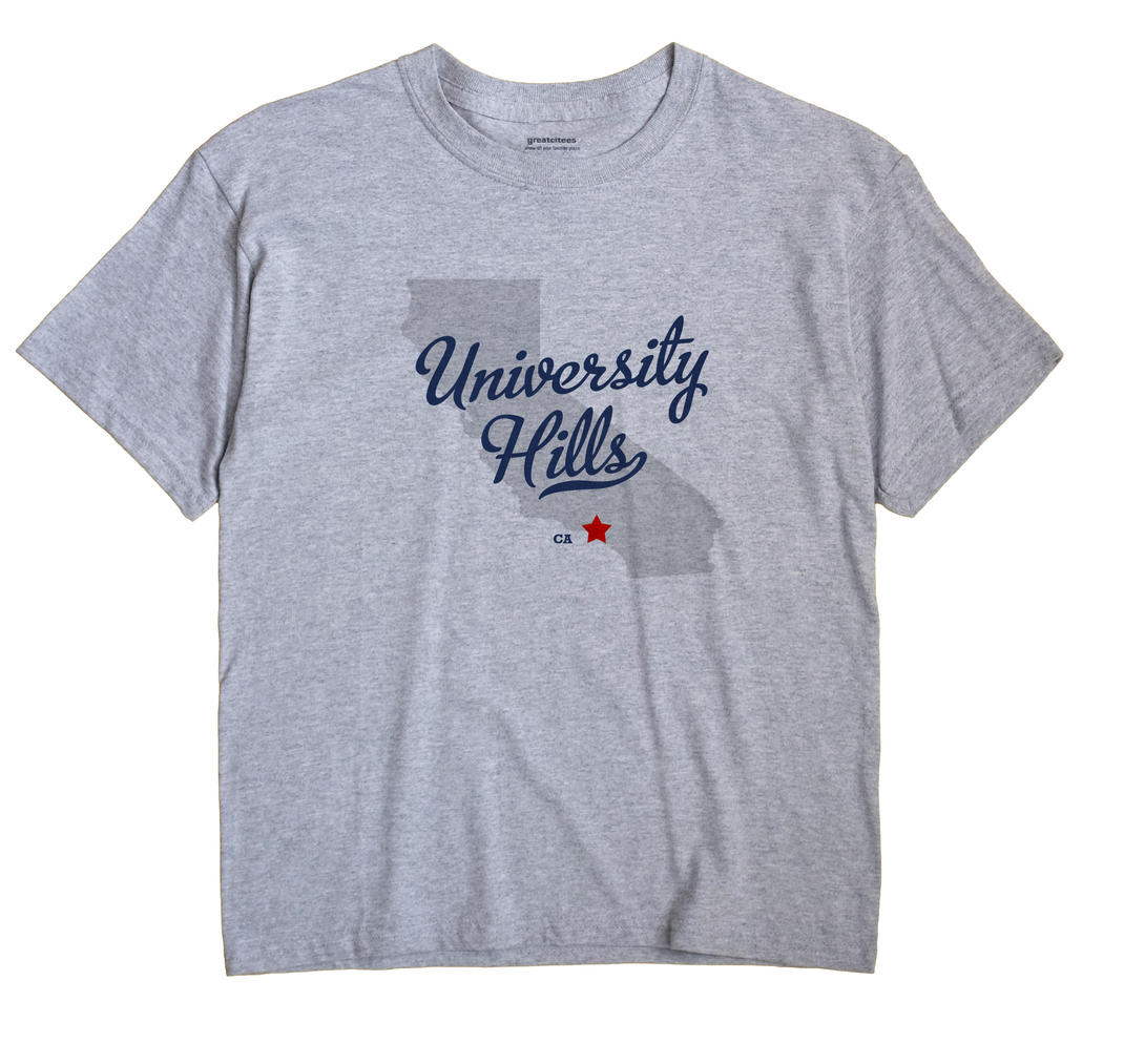 University Hills, California CA Souvenir Shirt