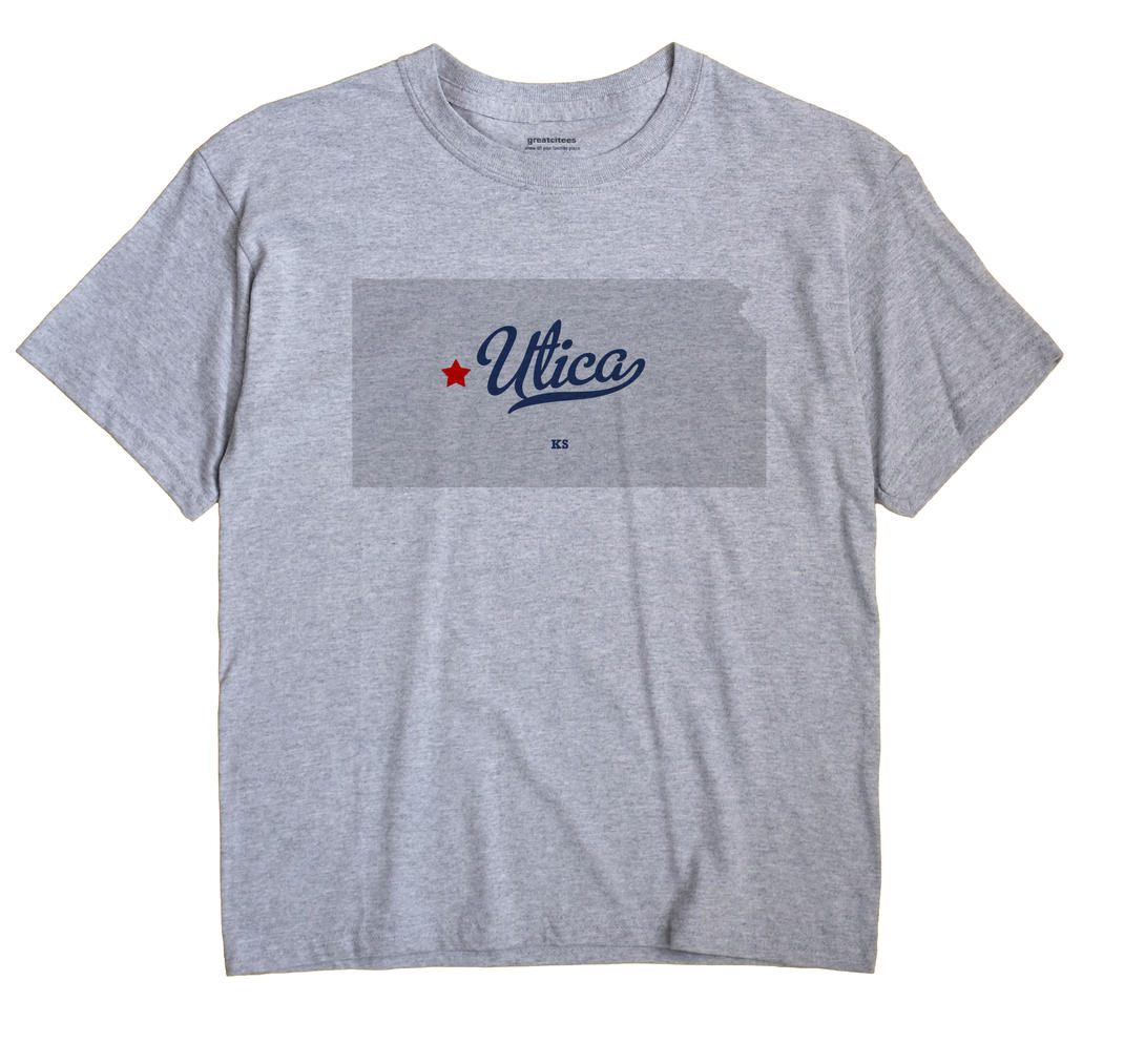 Utica, Kansas KS Souvenir Shirt