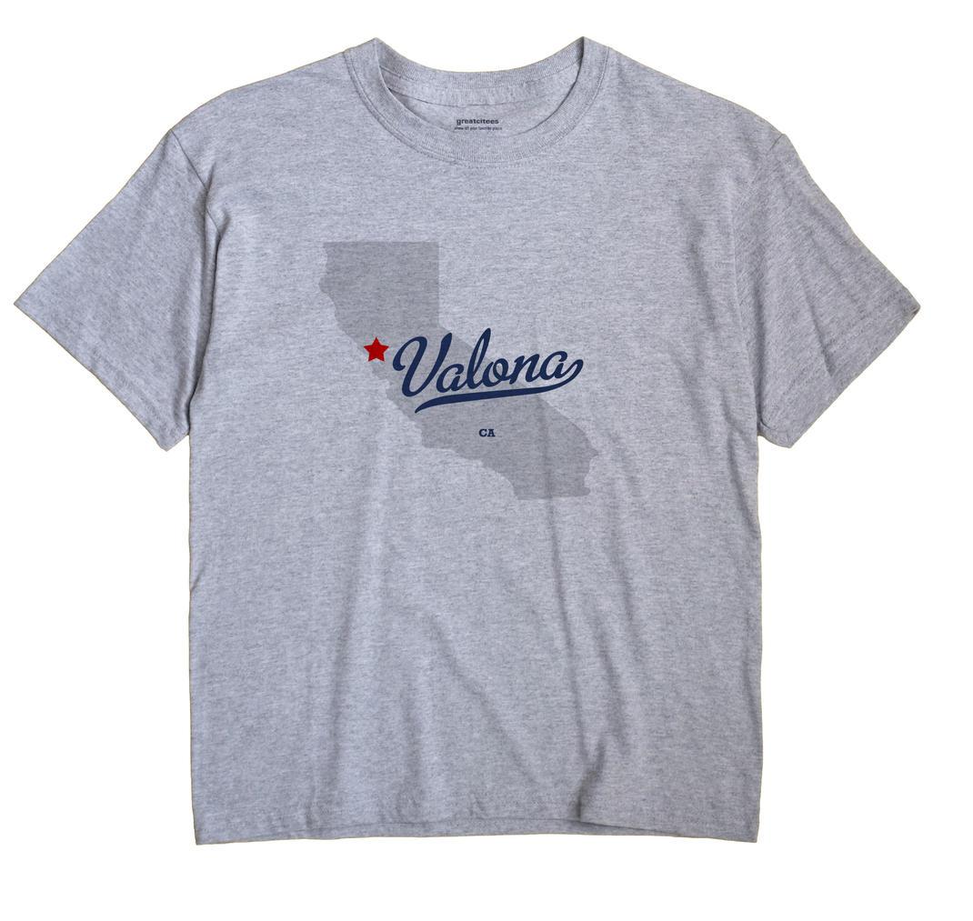 Valona, California CA Souvenir Shirt